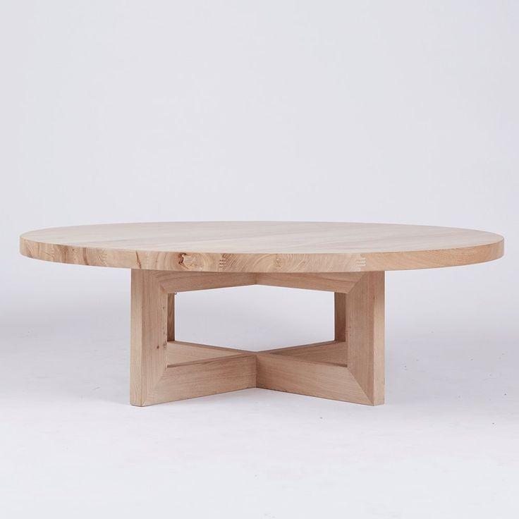 The Bondi Round Wooden Coffee Table | Urban Couture - Designer Homewares & Furniture Online (avail 900 or 1200 dia) 1200 $1595