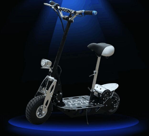 Brush Motor Max Speed 30km/h Electric Scooter Bearing capacity About 100kg Double Wheel Scooter