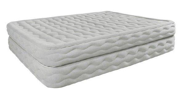 38 best lit de camping et accessoires images on pinterest - Matelas gonflable avec gonfleur integre ...