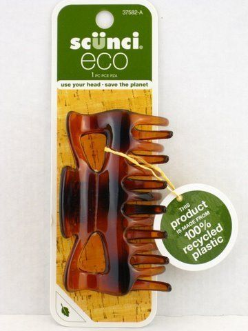 Scunci Eco Claw Hair Clip - Tortoise ** Read more details by clicking on the image. #hairfashion