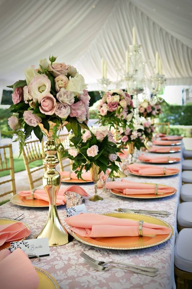 Rose & Gold Elegance | Garden Marquee Wedding| Evergreen Garden Venue | Styled by Sugar and Spice Events