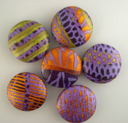 More stunning lentil beads by Janice Abarbanel.  Mmmmm!