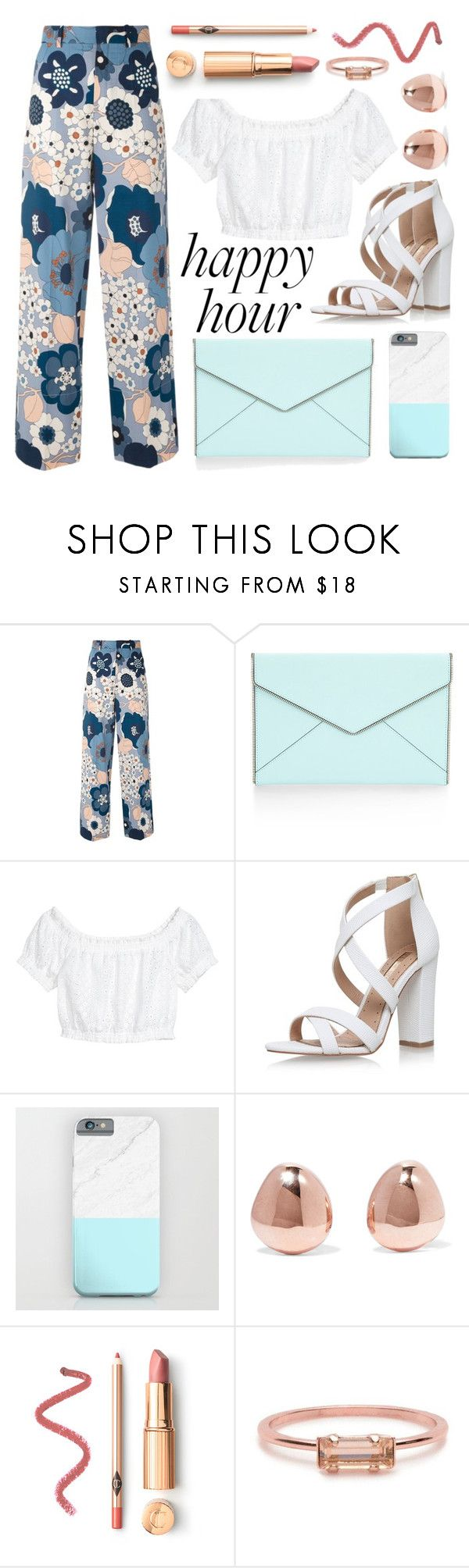 """OOTD - Happy hour"" by by-jwp ❤ liked on Polyvore featuring Chloé, Rebecca Minkoff, Miss KG, Monica Vinader and Bing Bang"