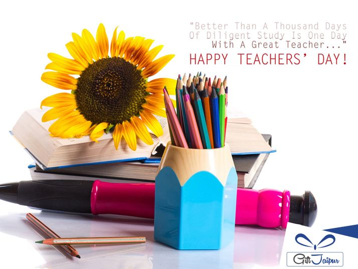 A teacher takes a hand, opens a mind and touches a heart. Happy #Teacher's Day