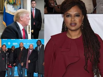 """You Can't Hide: Hateful Hypocrite Cheetoh-In-Chief Cries """"Due Process"""" And Gets Dragged By Ava Duvernay -  Click link to view & comment:  https://www.afrotainmenttv.com/you-cant-hide-hateful-hypocrite-cheetoh-in-chief-cries-due-process-and-gets-dragged-by-ava-duvernay/"""