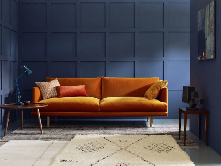 25+ best ideas about Orange living room sofas on Pinterest | Orange living  room furniture, Cozy eclectic living room and Bright homes - 25+ Best Ideas About Orange Living Room Sofas On Pinterest