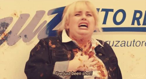 """I was hit by flying mexican food!"" Fat Amy pitchperfect"