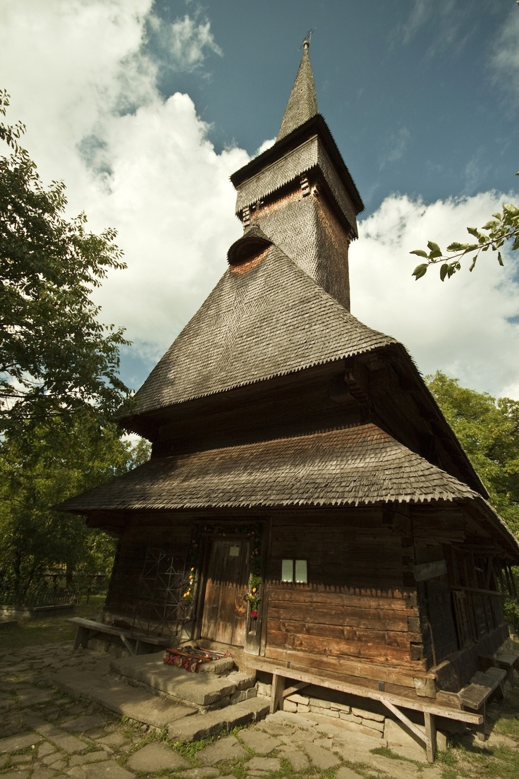 The UNESCO-listed wooden church in Desesti is one of the best preserved in the Maramures region. Constructed in 1770, the interior contains an excellent collection of icons painted on glass as well as wood.