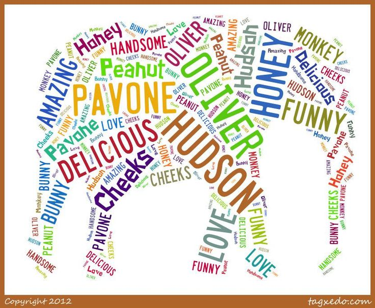 The other day I found this fun website called Tagxedo that lets you make word clouds in a variety of shapes, fonts and colors. It was so much fun to play around it and I decided that little Hudson …