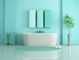 Best Salle De Bain Verte Et Bleu Photos - Home Decorating Ideas ...