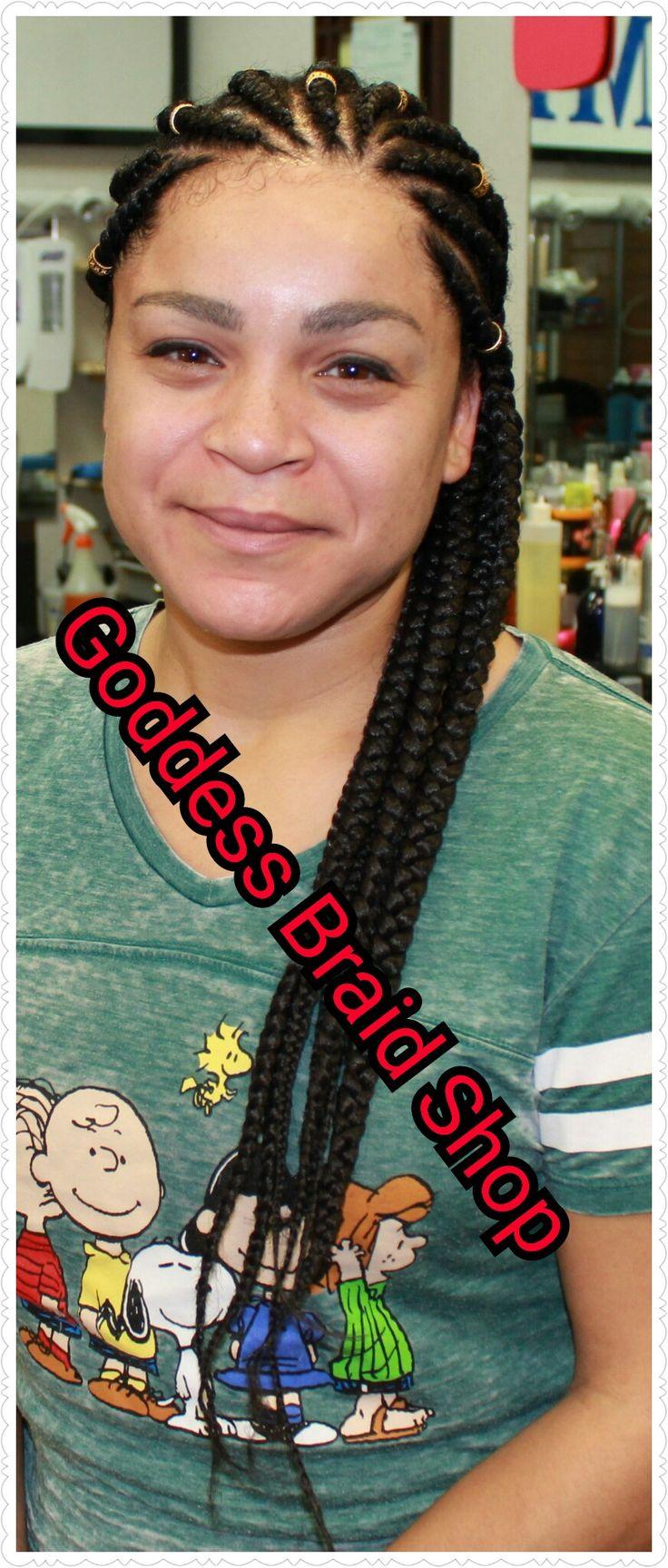 Cornrows at Goddess Braid Shop St Petersburg FL. www.goddessbraidshop.com. #drchele #goddessbraidshop #hcpoils #cornrows #crochetbraids #naturalhair #naturalhaircommunity #braiding #braidideas #stpetersburgfl #tampa #kinkycurly #curlyhairdontcare