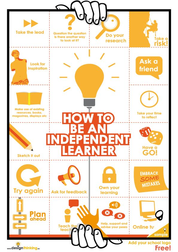 How to be an independent learner