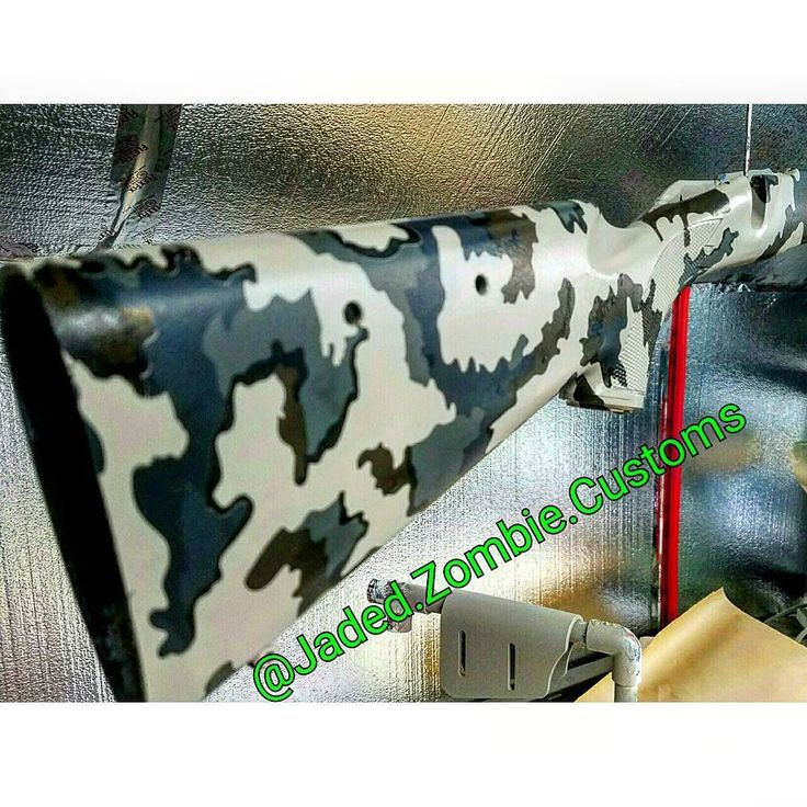Savage Long Range Hunter rifle stock hydrodipped  OHW Kuiu Vias tan base coat hydrodipped in Kuiu Vias Camo pattern and clear coated in 2k Matte finish.  For quotes and inquiries please DM or visit our website. Follow us on FB@JadedZombieCustoms www.jadedzombie.com jadedzombiecustoms@gmail.com 801-980-1167  #hydrographics #hydrodipped #utah #utahhydrographics #hydrographics #hydrodipped #dipped #watertransferprinting #jadedzombie #carbonfiber #camo #cerakote #powdercoat #paint #custom…