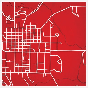 Miami University map print! I need this!!!