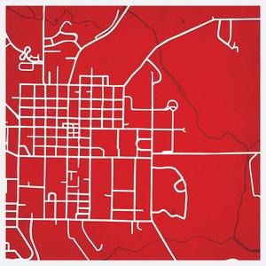 Miami University map print! I need this!!!
