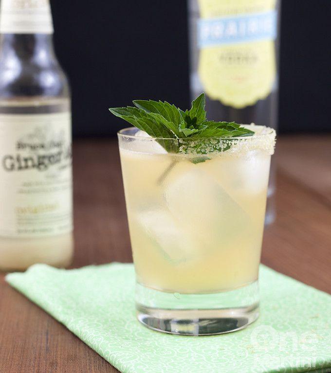 vodka cantaloupe cocktail
