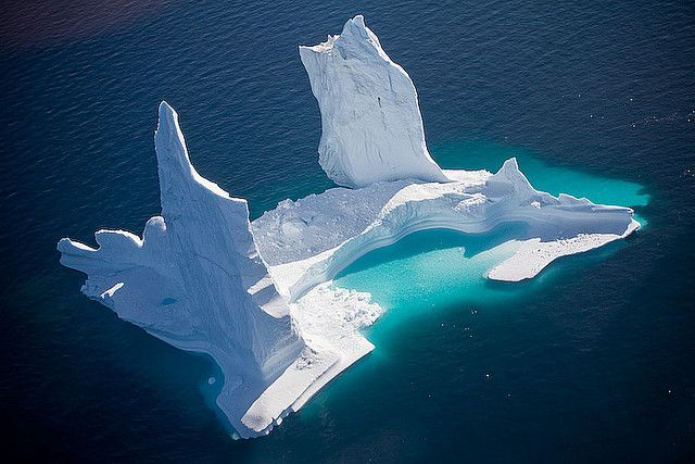 An iceberg in Greenland by Jonni J., via Flickr