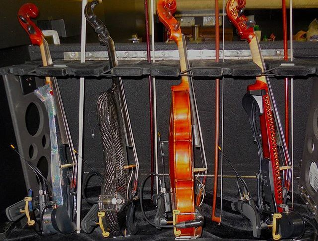 Violins from the Music Box tour! Hope you all are having a great Friday! What's your favorite movie?