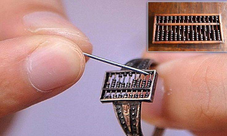 300-year-old abacus ring uncovered from the Qing Dynasty in China #wearabletech #wearables