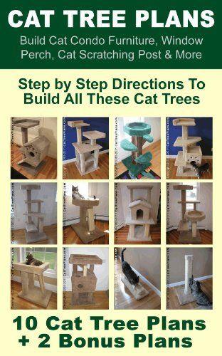 Cat Tree Plans: Build Cat Condo Furniture, Window Perch, Cat Scratching Post & More by Brian Johnson, http://www.amazon.com/dp/B00802JDPS/ref=cm_sw_r_pi_dp_G9gmsb1K2GQXY