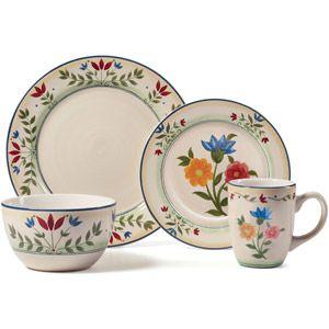 Pfaltzgraff Studio Garden Blossom 16-Piece Dinnerware Set