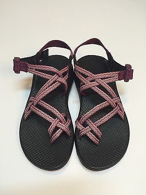 Chaco Women's ZX2 Yampa Sandals Size 7 Pink Black Tidal Wave Tsunami New!