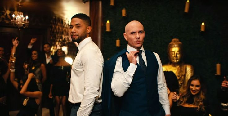 """Enjoy Jussie Smollett's latest music video with Pitbull for the song """"No Doubt About It."""""""