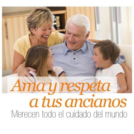 Ama y respeta a tus ancianos, Merecen todo el cuidado del mundo Las vacaciones son la ocasión para estar con gran parte de la familia a la que no veías, pero también son un buen momento para compartir con esas a las que ves todo el tiempo y no siempre les pones suficiente atención.  http://www.inkomoda.com/ama-y-respeta-a-tus-ancianos-merecen-todo-el-cuidado-del-mundo/