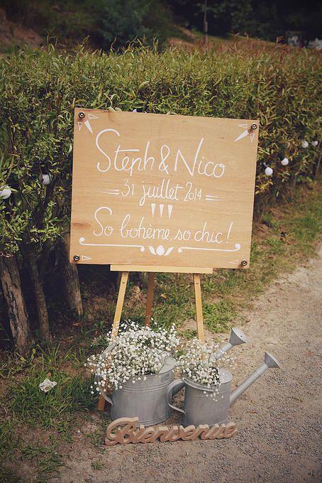 Les 25 meilleures id es de la cat gorie mariages boh me chic sur pinterest - Deco mariage boheme chic ...