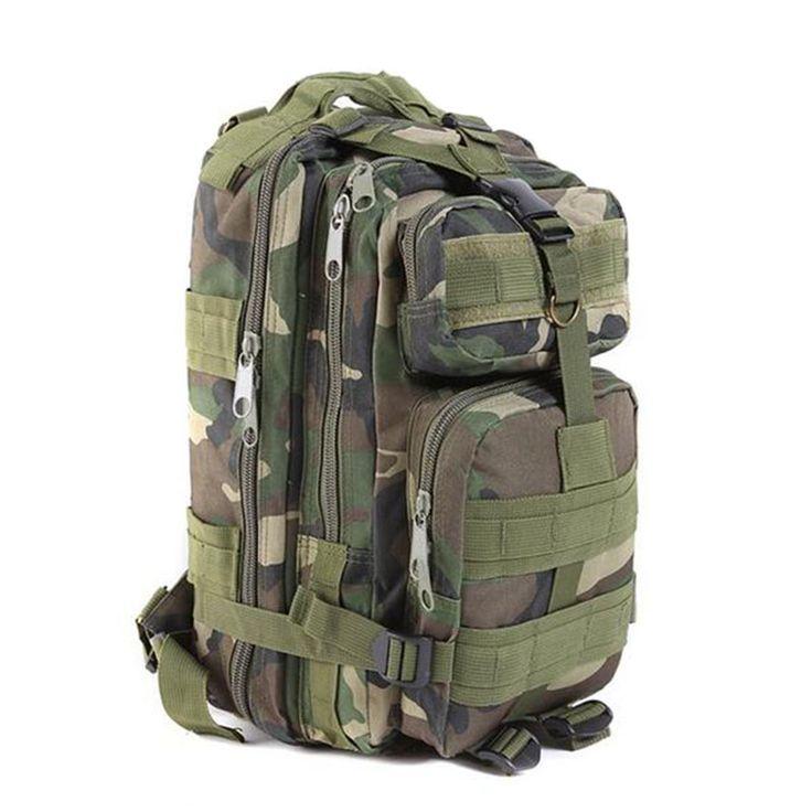 $27.69 (Buy here: https://alitems.com/g/1e8d114494ebda23ff8b16525dc3e8/?i=5&ulp=https%3A%2F%2Fwww.aliexpress.com%2Fitem%2FPromotion-2015-Hot-Sale-Outdoor-Military-Backpack-Men-Women-Tactical-Backpacks-Camping-Hiking-Bag-Trekking-Sport%2F32340071217.html ) 2016 Hot Sale Men Large Capacity Canvas Military Backpack Camouflage Tactical Rucksack Travel Packs Bolsas Mochila XA202C for just $27.69