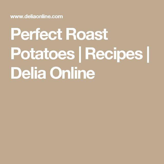 Perfect Roast Potatoes   Recipes   Delia Online