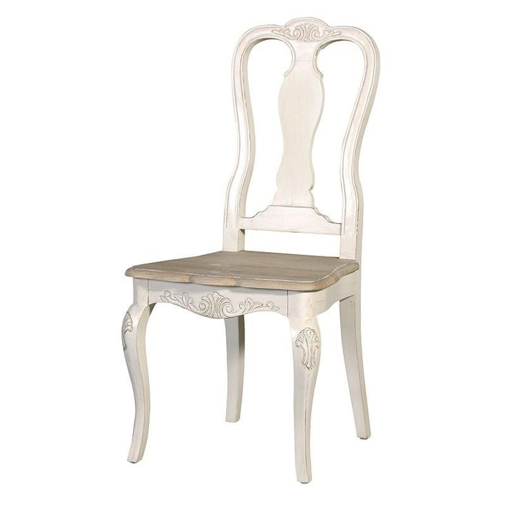 The Chamonix French Painted Dining Chair Is A Wonderful Piece Of Traditional Furniture This Lovely Combines Limed Oak Washed Top With An Off White