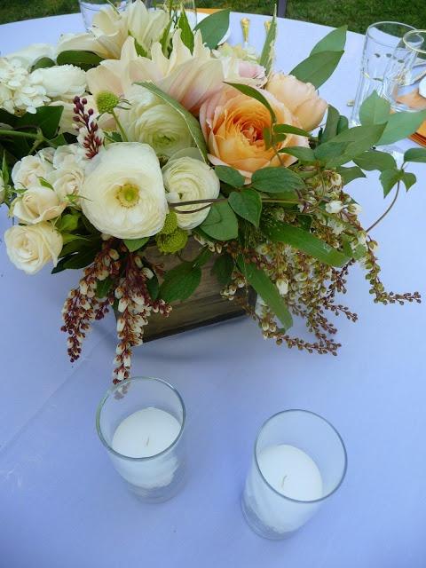Teapots and Polka Dots: A Late-Summer Wedding