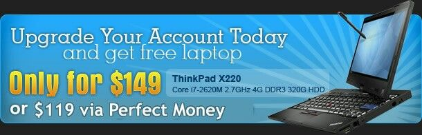 #join for free genuineptr.com upgrade and win free laptop