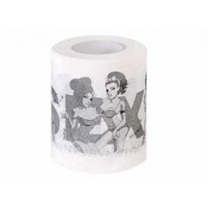 Szex témájú toalett papír - lánybúcsúra vagy felnőtt ajándéknak