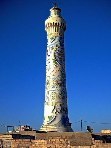 Casablanca Lighthouse, Morocco - This weeks Travel Pinspiration