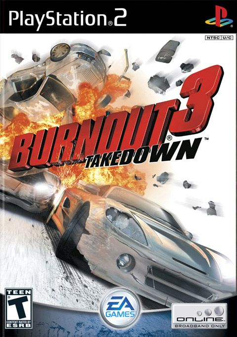 Burnout 3: Takedown. - I just got fixed my PS2 and, though I'm not used to play it too oftenly, I played this one today, and I'd forgotten how amazing this game was!!