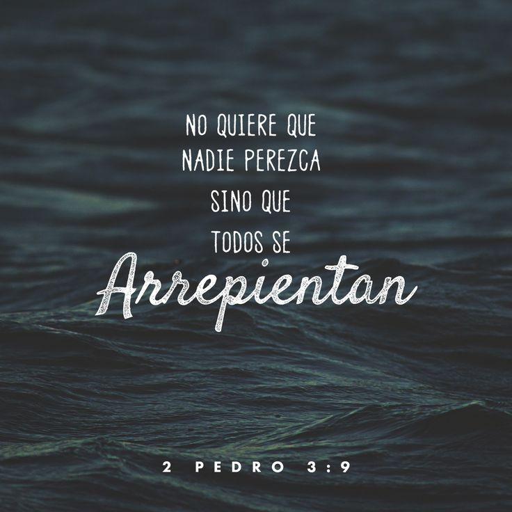 El anhelo de Dios es que todos tengamos una relación con Èl. La clave, arrepentimiento!