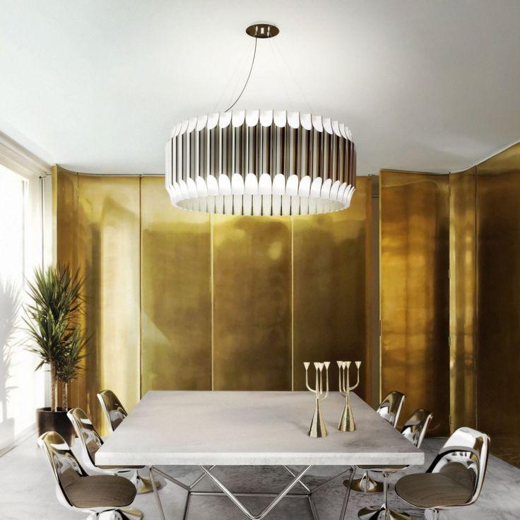 Galliano Suspension Lamp - дизанерская люстра. Оригинальный светильник. Современный интерьер. Дизайн интерьера.