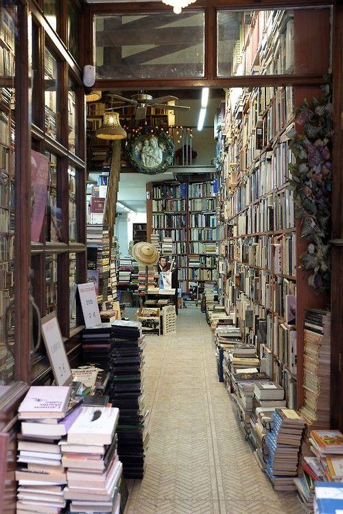 Old Bookshop in Martires Str, Malaga Centre (Costa del Sol - Andalusia, Spain)