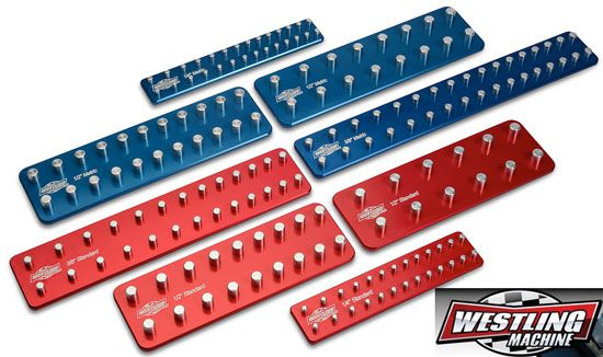 Looking for a better way to organize your sockets? We traded our Hansen trays for these USA-made CNC machined organizers from Westling Machine Co.