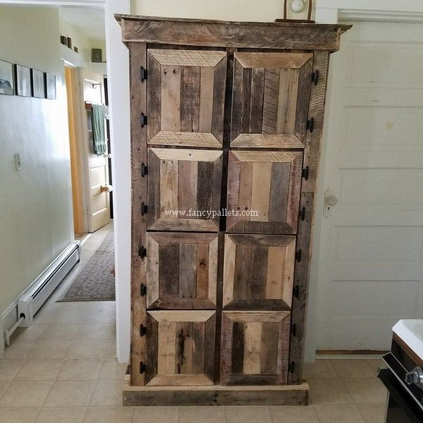 25 Incredible New Creations With Old Shipping Pallet Wood Ideas
