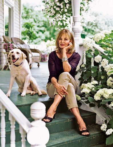 Jessica Lange from Architectural Digest