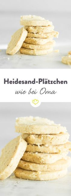 Der vergessene Klassiker! Heidesand ist ein mürbes Plätzchen, das erst durch die gebräunte Butter seinen typischen Geschmack erhält. #Kekse