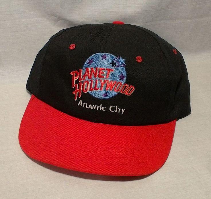 PLANET HOLLYWOOD Atlantic City Baseball Trucker Painter Cap Snap Back Excellent #Unbranded #BaseballCap