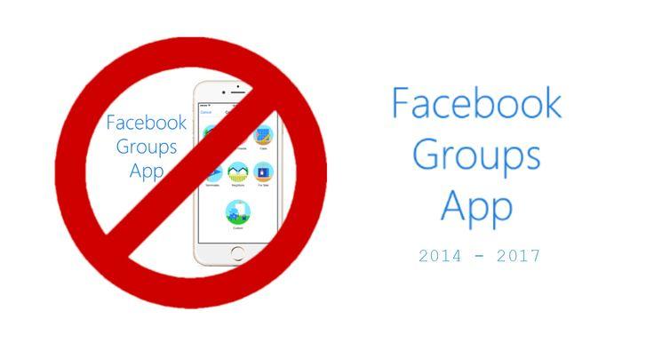 Facebook cancella #FacebookGroups, chiudendo l'app a partire dal 1° settembre 2017. La decisione di Casa Zuckerberg non è però quella di eliminare i Gruppi #Facebook dalla piattaforma sociale. Infatti la decisione è semplicemente quella di chiudere Facebook #Groups, incorporando le sue funzionalità nell'applicazione principale di Casa Zuckerberg.