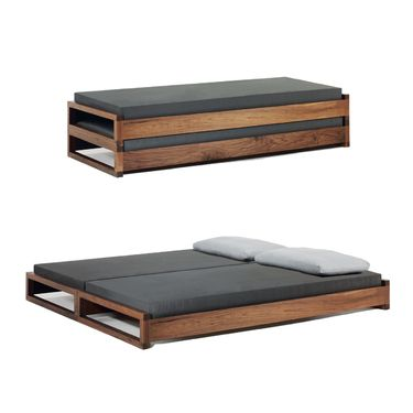 Guest Bed by Hertel Klarhoefer Industrial Design http://www.suiteny.com/products/beds/guest/429/