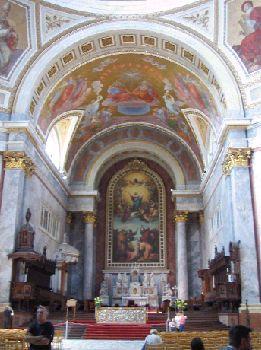 Church in Esztergom, Hungary