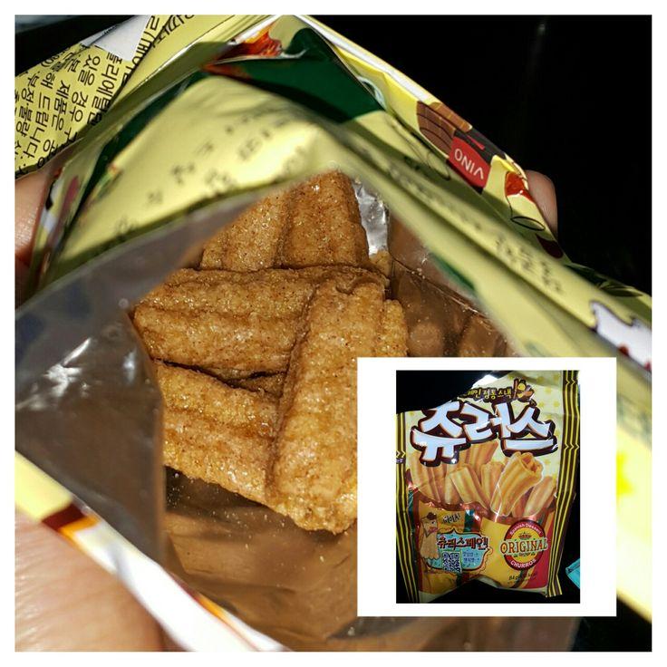 Churros Snack #cinnamontaste #sg #bugis #madeinkorea