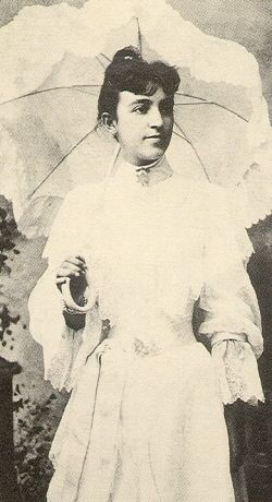 (1906) Mary Church Terrell. The first president of the NACW, a leading clubwoman and suffragist. Believed that the race could rise no higher than its women, argued that club women must go into the community & work to improve it.